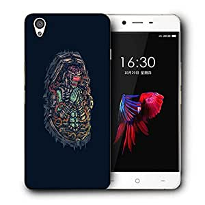 Snoogg Monster Praying Designer Protective Back Case Cover For ONEPLUS X