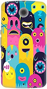 The Racoon Grip printed designer hard back mobile phone case cover for Google Nexus 6. (Monster Oy)