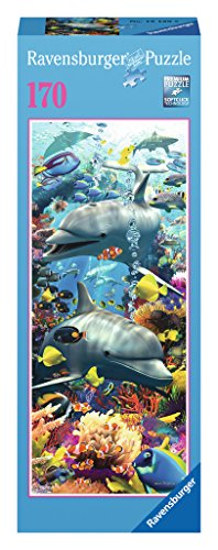Ravensburger Swimming Dolphins Puzzle, 170-Piece