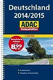 ADAC KompaktAtlas Deutschland 2014/2015 1:300 000