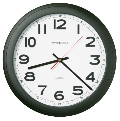 Auto Daylight-Savings Wall Clock