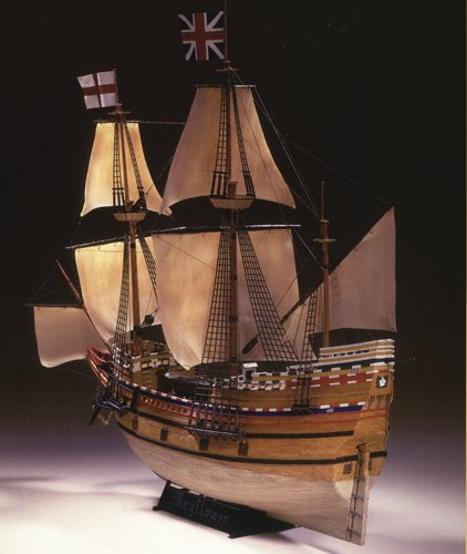 Heller - 80828 - Construction Et Maquettes - Mayflower - Echelle 1/150ème