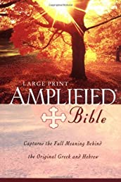 Amplified Bible,. Large Print