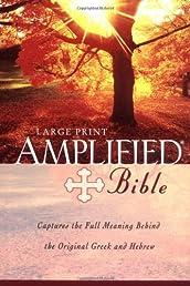 Amplified Bible,. Large Print