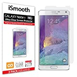 Samsung Galaxy Note 4 Screen Protector, iSmooth, Ultra Clear