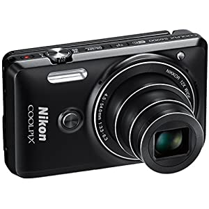 Nikon COOLPIX S6900 16MP Full HD 1080p Digital Ultimate Selfie Camera w/ 12X Zoom Flip-Out Screen Wi-Fi (Black)(Certified Refurbished)