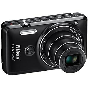 Nikon COOLPIX S6900 16MP Full HD 1080p Digital Ultimate Selfie Camera w/ 12X Zoom Flip-Out Screen Wi-Fi (Black)(Certified Refurbished)