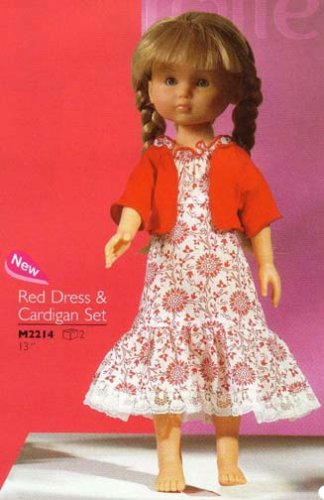 Les Cheries Red Dress & Cardigan Set _ Corolle - Buy Les Cheries Red Dress & Cardigan Set _ Corolle - Purchase Les Cheries Red Dress & Cardigan Set _ Corolle (Corolle, Toys & Games,Categories,Dolls,Baby Dolls)