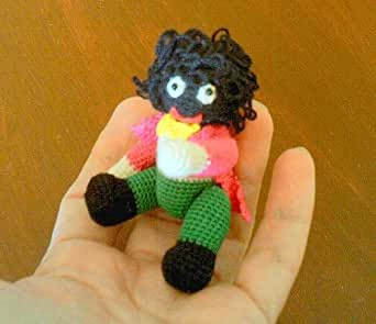 Amazon.com: Miniature Golliwogg Thread Crochet Pattern by Edith Molina eBook:...