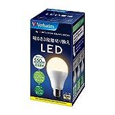 三菱化学メディア Verbatim LED電球 一般電球タイプ 口金E26 電球色 6.8w 550ルーメン 明るさ3段階切り換え LDA7L-H/3S
