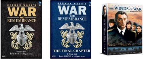 Winds of War & War and Remembrance Vol 1 and 2. Complete DVD