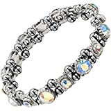 MOTHER'S DAY SPECIAL - Beautiful Hematite Crystal Magnetic Bracelet For Women. Joint Aid, RSI, Carpal Tunnel. Migraines.