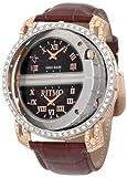 Ritmo-Mundo-Mens-D2011-SS-RG-Diamond-Persepolis-Triple-Time-Orbital-Case-Quartz-Watch