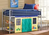 Hillsdale 1178-LoftBedSet Universal Youth Junior Loft Bed Set