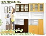 食器棚 大容量収納が可能なキッチン収納庫です。ダークブラウン
