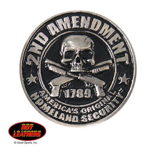 Hot Leathers 2nd Second Amendment 1-1/2