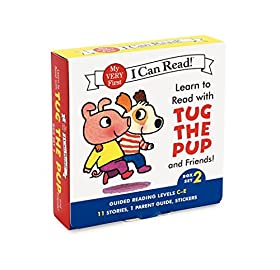 Learn to Read with Tug the Pup and Friends! Box Set 2: Levels Included: C-E (My Very First I Can Read!)