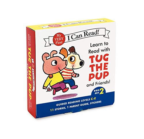 Learn to Read with Tug the Pup and Friends! Box Set 2: Levels Included: C-E (My Very First I Can Read) (I Can Learn compare prices)