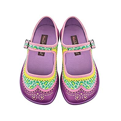 hot chocolate design mini chocolaticas habana zoo girls mary jane flat shoes. Black Bedroom Furniture Sets. Home Design Ideas