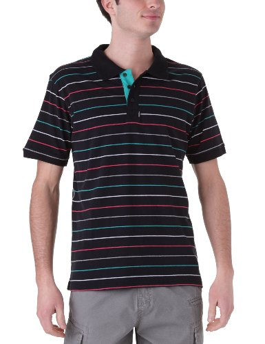 O'Neill The Tube Men's Polo Black All Over Print X-Large