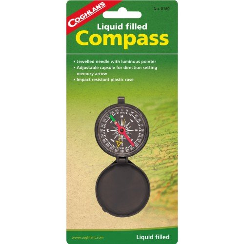 Coghlans 8160 Liquid Filled Pocket Compass