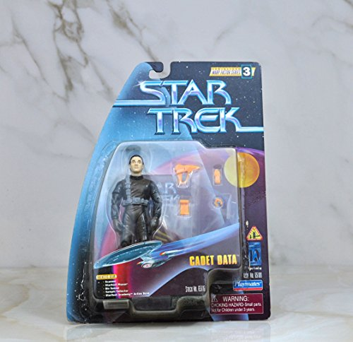 STAR TREK SERIALIZED WARP FACTOR SERIES 3 CADET DATA - 1