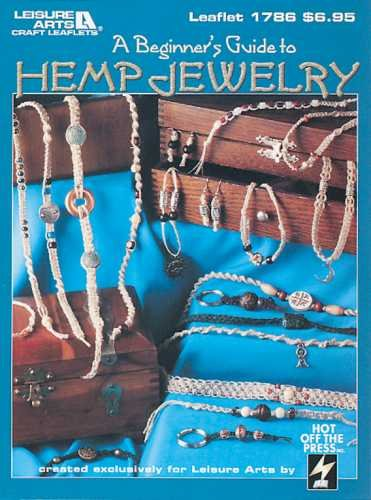 Leisure Arts-beginner's Guide To Hemp Jewelry - 1