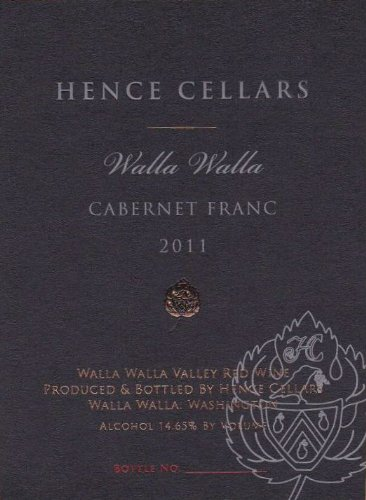 2011 Hence Cellars Cabernet Franc 750 Ml