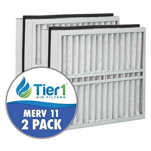 Trane FLR06070 American Standard BAYFTFR21M 21x27x5 Merv 11 Replacement Air Filter (2 Pack)