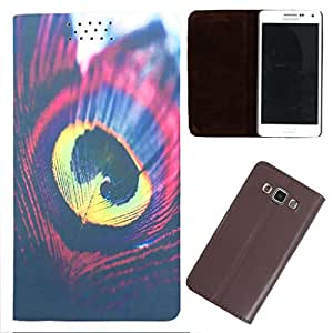 DooDa - For HTC Desire 516 Dual Sim PU Leather Designer Fashionable Fancy Flip Case Cover Pouch With Smooth Inner Velvet