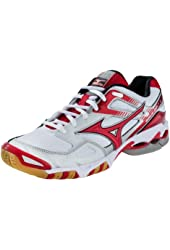 Mizuno Women's Wave Bolt 3 Volleyball Shoes - White & Red