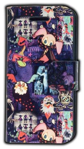 劇場版 魔法少女まどか☆マギカ iPhone5用ケース パカスタンド 魔女柄