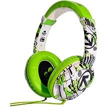 iDance Ibiza DJ Over Ear Headphone - Green/White/Black