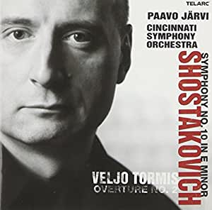Shostakovich: Symphony No. 10 / Tormis: Overture No. 2