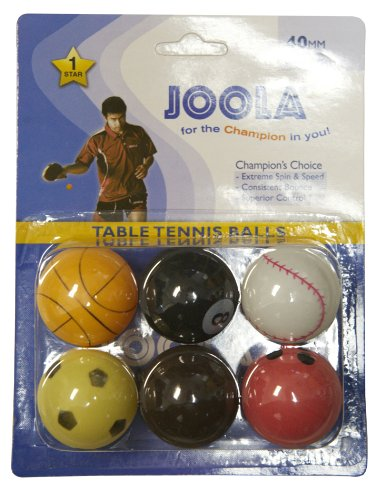 Joola Table Tennis Sports Balls - Pack of 6
