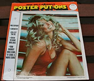 1977 Charlie's Angels Farrah Fawcett 8.5x10 Sticker Poster