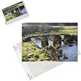 Photo Jigsaw Puzzle of Clapper bridge at Postbridge, Dartmoor National Park, Devon, England, United from Robert Harding