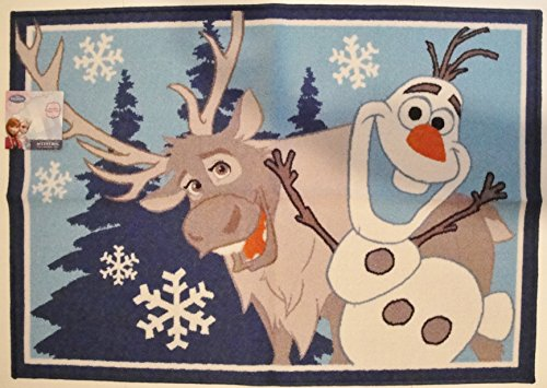 Disney Frozen Up For An Adventure Child Accent Rug - 31in X 44in (Leopard Hunter Liners compare prices)