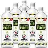 Smartfuel Pourable Liquid Bio-ethanol Fireplace Fuel 1/2 Case (6 Liters)