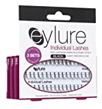 Eylure Individual Semi Permanent Lashes Black Short/ Medium and Long Length Multipack Pack of 3
