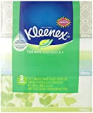 Kleenex Lotion Facial Tissue, 120 Count, (Pack of 3)