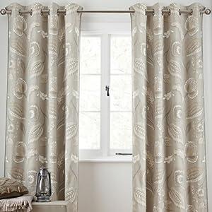 Next Artisan Natural Curtains 99x90 Floral Designer Curtains Sale Kitchen Home
