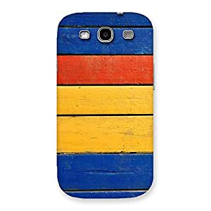 Wooden Decks Back Case Cover for Galaxy S3 Neo
