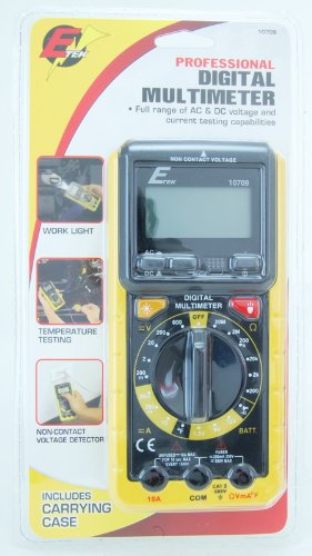 Etek Digital Multimeter : Custom accessories w e tek digital multi meter