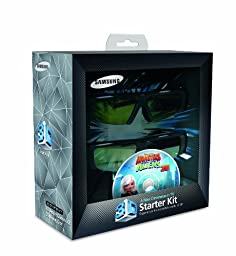 Samsung SSG-P2100T Battery 3-D Glass Kit  - Black (Compatible with 2010 3D TVs)