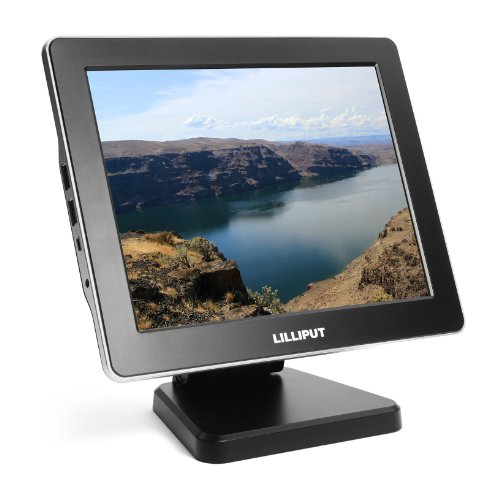 Professional Lilliput 9.7'' Um-900 Color Tft Lcd Usb Monitor With Mini Hdmi, Mini Usb, Usb Input / Usb Output /Most Suitable Display For Vga, Vcd, Dvd And Gps System For Motorcars And Ships / Additional Function Of Battery Charging For Iphone / Ipad / And