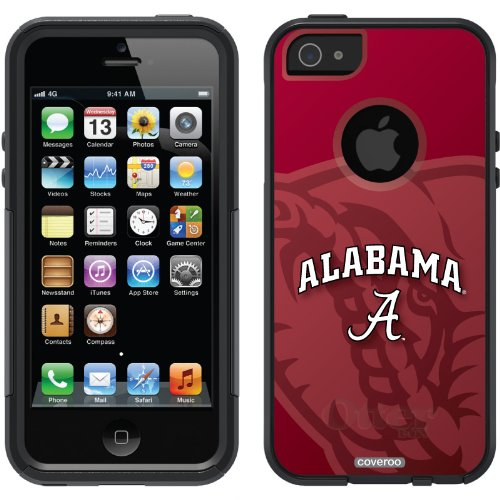 Best Price Alabama - Elephant Mascot design on a Black OtterBox® Commuter Series® Case for iPhone 5s / 5
