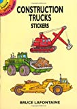 Construction Trucks Stickers (Dover Little Activity Books Stickers)