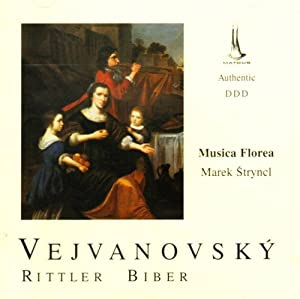 Vejvanovskyrittlerbiber Vocal And Instrumental Works from Studio Matous