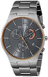 Skagen Men's SKW6076 Balder Titanium Chronograph Watch